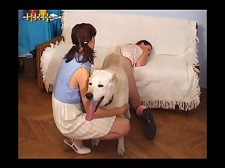 Teen Sluts Fucking Dog (part 5)