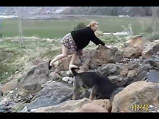 1 A Minx Gets Fucked By Her Dog, In Nature. (part 3)