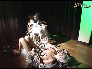 Genki Dgen006 The Fat Eel And The Loach Are Inserted Into The Anus Of A Lewd Lesbian 010